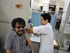 20110705_01予防接種1回目うわぁ痛いかも