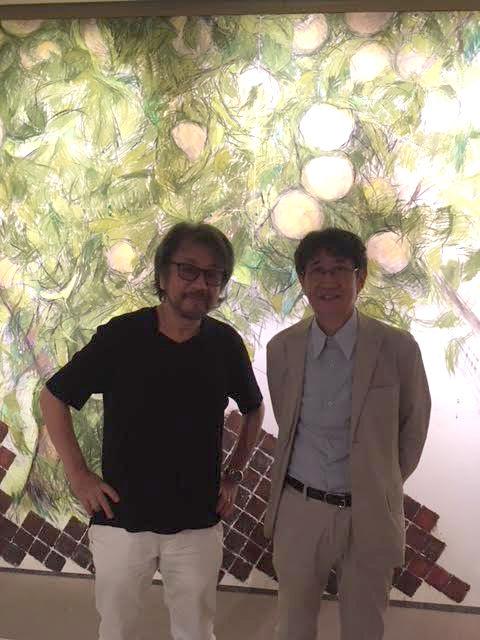 2018/08/25 田窪恭治展 : きむらゆういちのアトリエ通信