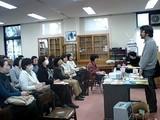 慶応幼稚舎で図書館員さんに講演