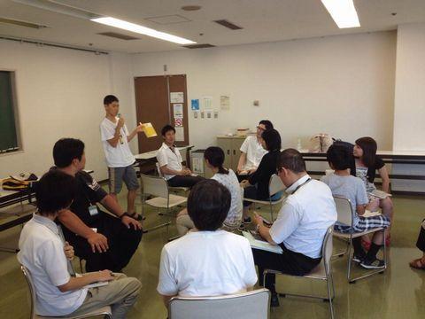 2014年8月2日川崎市立宮前図書館ビブリオバトル