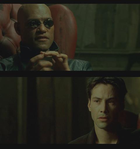 モーフィアスとアンダーソン