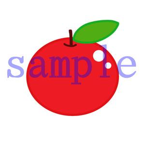 イラストレイン「りんご」