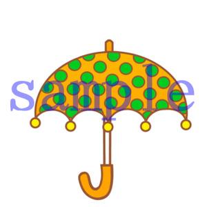 イラストレイン「傘」