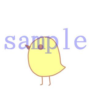 イラストレイン「ひよこ」01