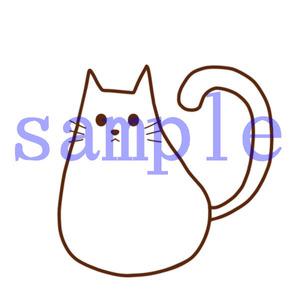 イラストレイン「白猫」