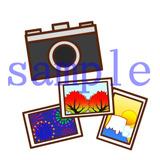 イラストレイン「カメラと風景写真」