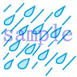 イラストレイン「雨」02