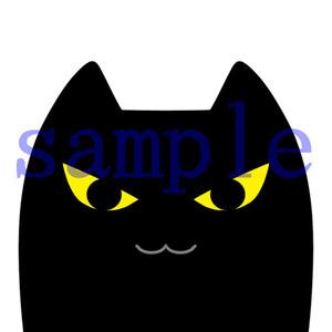 イラストレイン「黒猫」03