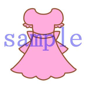 イラストレイン「ピンクのワンピース」02