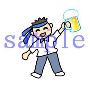 イラストレイン「酔っぱらい」02