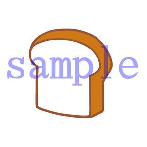 イラストレイン「食パン」01