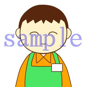 イラストレイン「介護スタッフ(男性)」02