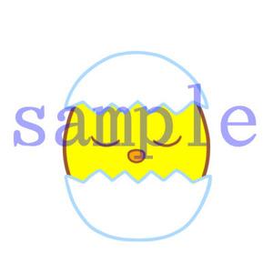 イラストレイン「ひよこ」02
