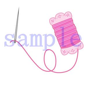 イラストレイン「針と糸」