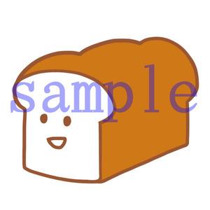 イラストレイン「食パン」04
