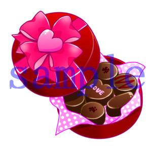 イラストレイン「チョコレート」