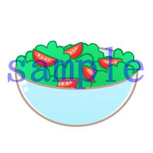 イラストレイン「サラダ」
