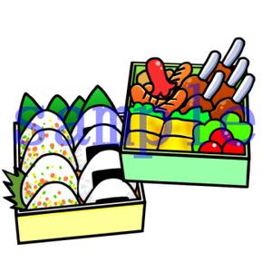 イラストレイン「お弁当」