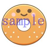 イラストレイン「ドーナツのキャラクターイラスト」