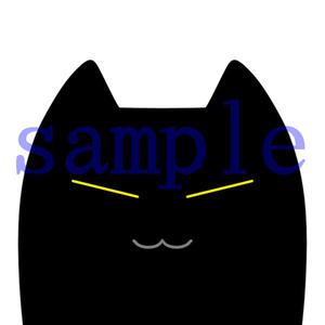 イラストレイン「黒猫」04