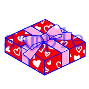 イラストレイン「バレンタインチョコ」