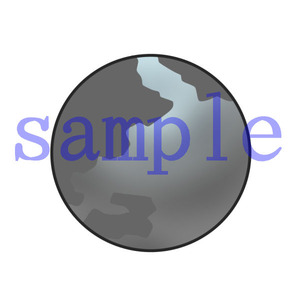 イラストレイン「灰色の地球」