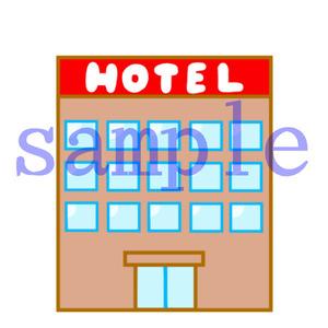 イラストレイン「ホテル」