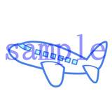 イラストレイン「飛行機」