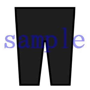 イラストレイン「制服ズボン」