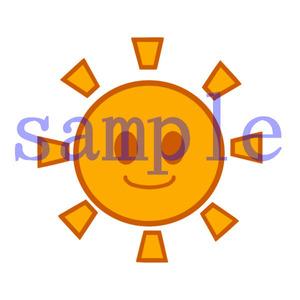 イラストレイン「太陽」