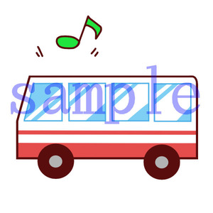 イラストレイン「バス旅行」