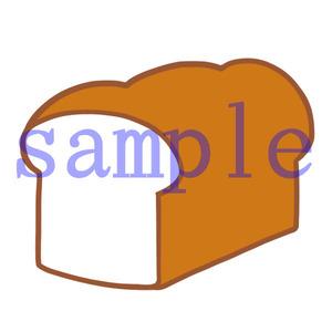 イラストレイン「食パン」02