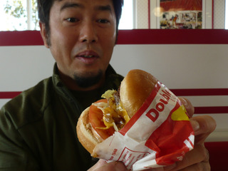 IN-N-OUT ダブルダブルと初対面!!