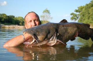 Noodling for Catfish Now Legal in Texas