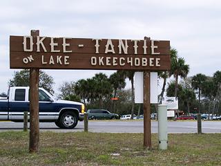 フロリダ州 レイク・オキチョビ