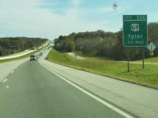 テキサス州、Tylerへ!