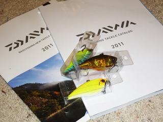 2011ダイワカタログとTDバイブウーファーTYPE-R