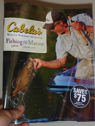 Cabela's 2010版 フィッシングカタログ