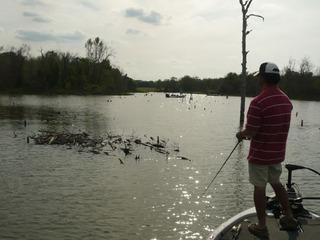 レイクフォーク釣行 2012年04月07日