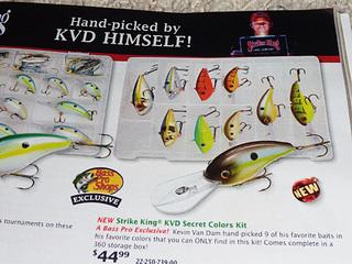 Strike King KVD Secret Color Kit