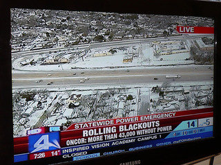2011年2月 テキサス大寒波