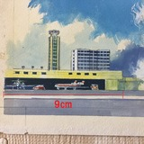 4 サンダーバード2号原画 ロンドン空港