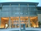 県立大本荘キャンパス正面玄関