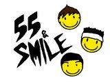 55&SMILEのロゴ2