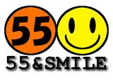 55&SMILEロゴ