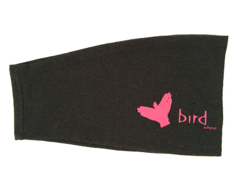BirdWhere+Sleeve_black+with+pink+logo