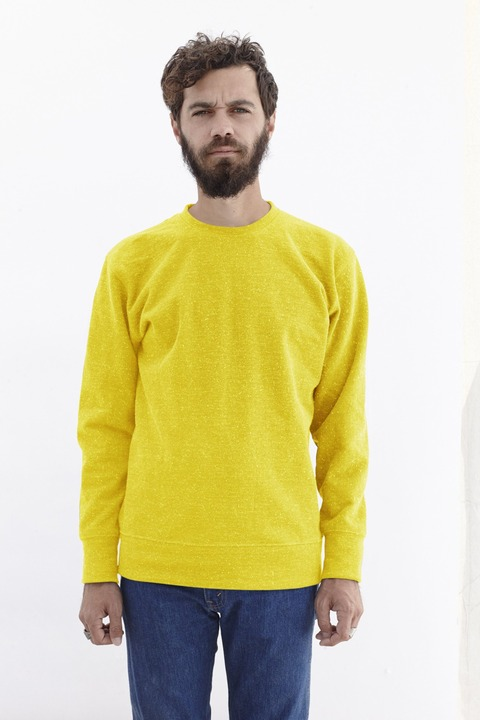 4_oz_Heavy_Weigth_Black_Speckled_Crewneck_Sweatshirt_Lemon_Cream