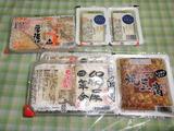 もらって来た豆腐製品