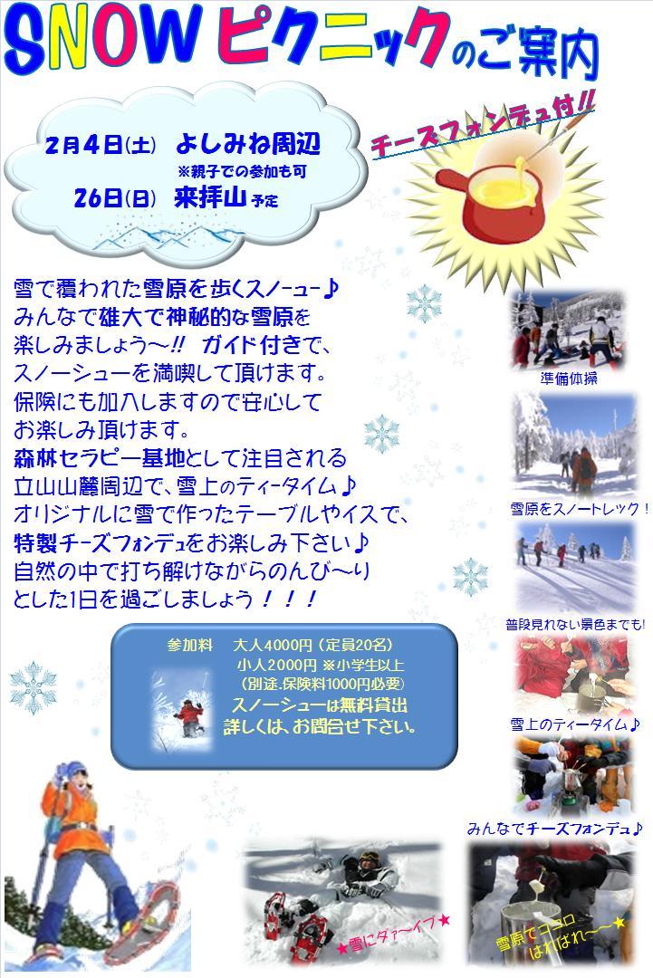 スノーイベント