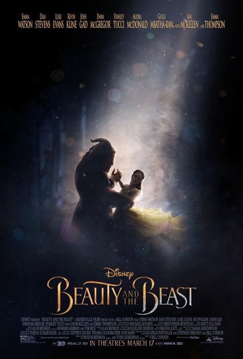 「美女と野獣」の新しいポスター
